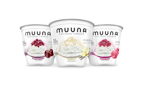 flavored cottage cheese muuna adds three new flavored cottage cheeses to its line