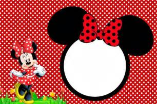 free minnie mouse party invitation template invitations