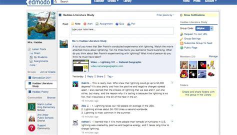 edmodo question of the day screen shot edmodo
