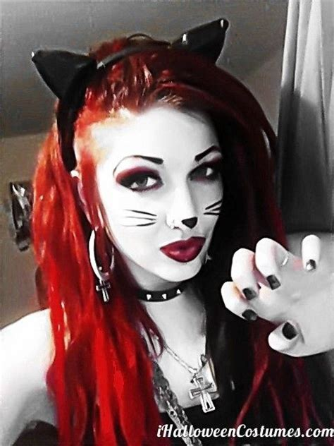 zombie cat tutorial 17 ideas about cat makeup for halloween on pinterest