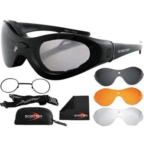 best motocross goggles review bobster spektrax interchangeable goggles sunglass with