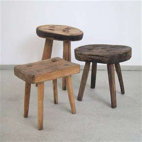 Handcrafted Wooden Stools - unique handcrafted wooden stools for side tables to