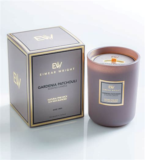 gardenia patchouli scented candle eimear wright