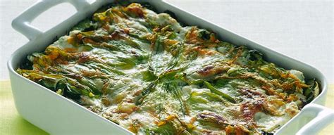 fiori zucchina ricette ricetta lasagne con zucchine e fiori sale pepe