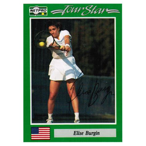 Tennis Express Gift Card - elise burgin signed women s card