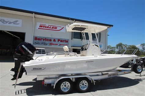 aussie whaler boats review new boston whaler 210 dauntless centre console for sale