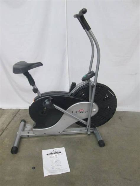 Lifemax Dual Exercise Bike With Fan January Store