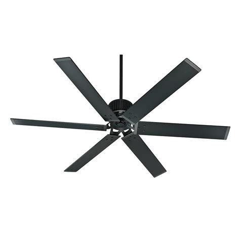 commercial outdoor ceiling fans shop hunter industrial 72 in matte black indoor outdoor