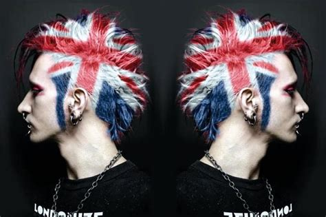 british hair cut images daily hair spotting british flag hair colour strayhair