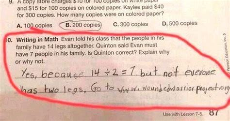 10 Things About Homework by These Actual Homework Answers From Will Make You Lol