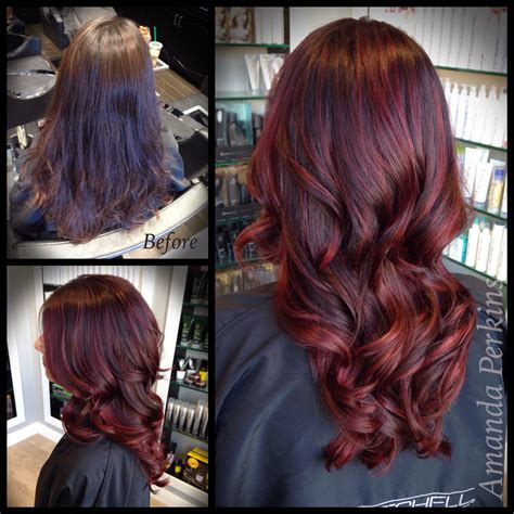 cherry hair color how to cherry hair color modern salon