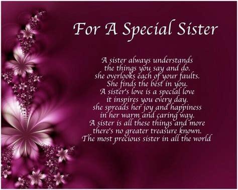 personalised   special sister poem birthday christmas gift present  ebay