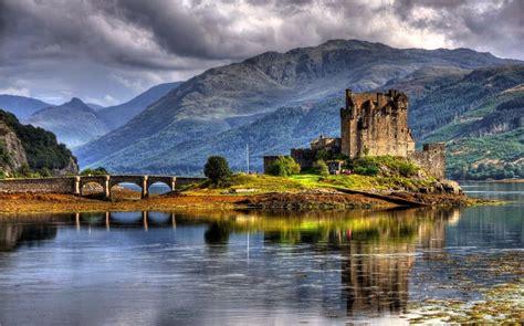 In Scotland eilean donan castle scotland made 4 day s