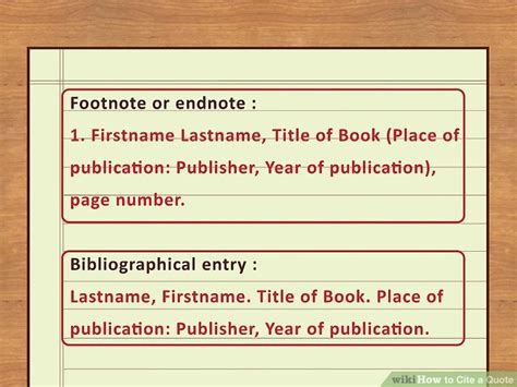 reference book quote 4 easy ways to cite a quote with pictures wikihow