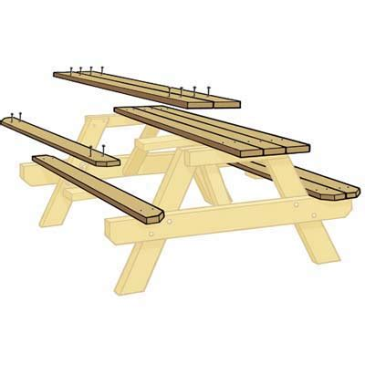 how to build picnic benches how to build picnic table bench