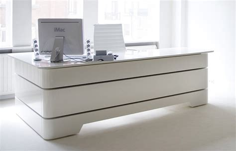 White Desk Furniture by White Executive Desk Home Furniture Design