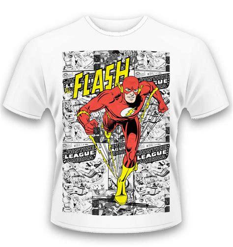T Shirt The Flash Pcs dc originals comic the flash t shirt somethinggeeky