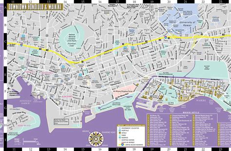 printable map honolulu large honolulu maps for free download and print high