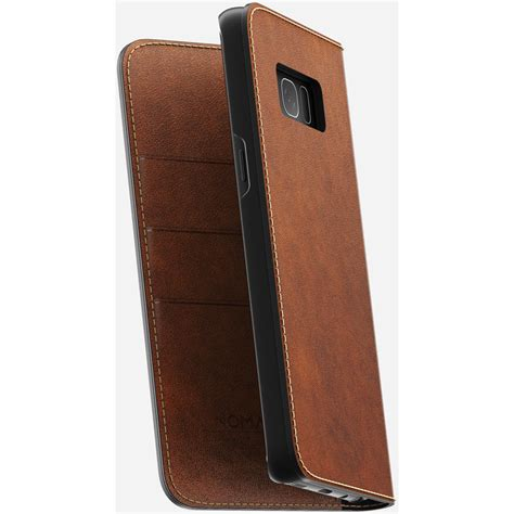 Nomad Leather Folio Iphone X Brown Traditional nomad leather folio for galaxy s8 rustic brown