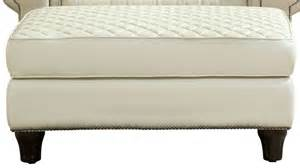 Ivory Leather Ottoman Wellesley Ivory Quilted Leather Ottoman 704504 5001aa Furniture