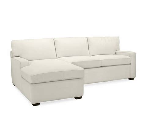 Square Sectional Sofa Pb Square Upholstered Sofa With Chaise Sectional Pottery Barn