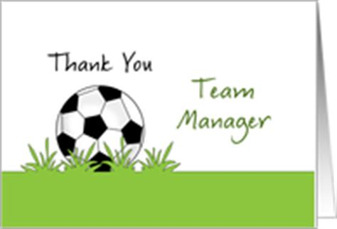thank you letter to team manager thank you cards for team parent manager from greeting card