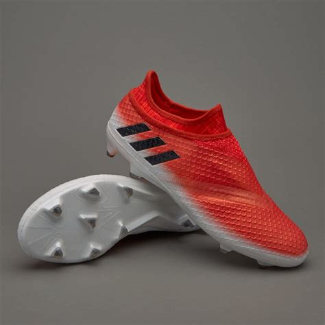 Sepatu Bola Adidas Messi 16 Pureagility 4 adidas messi 16 pureagility fg junior boots firm ground white black