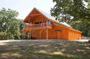 Log Cabin Barns by Cabin Or Pole Barn Garage Ideas Home The