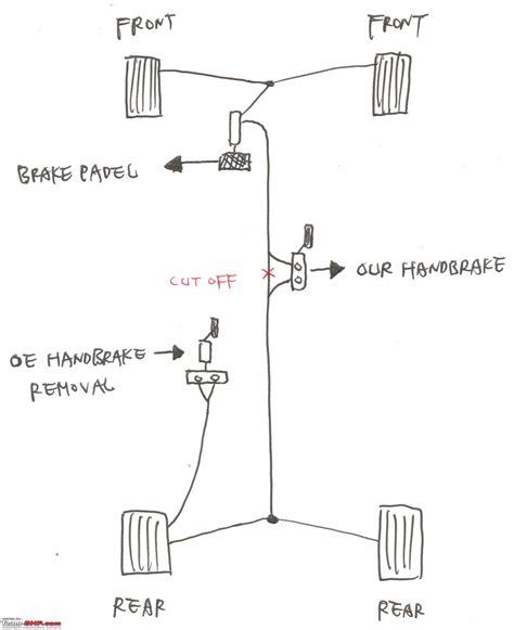 hydraulic handbrake diagram hydraulic handbrake team bhp