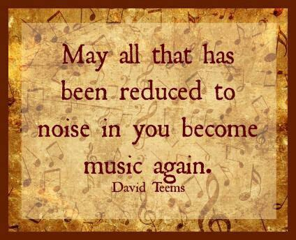 May Been Again by Quot May All That Has Been Reduced To Noise In You Become