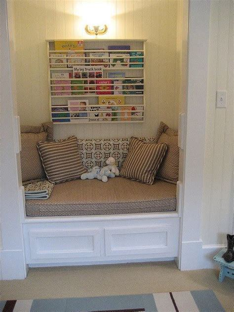 Closet Reading Nook by Reading Nook Cozy Spaces