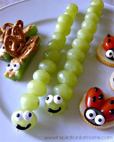 treats for toddlers back yard bug snacks