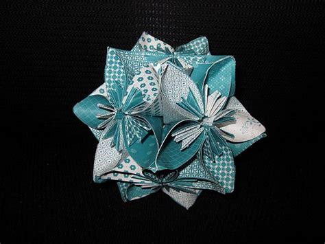 Origami Wedding Centerpieces - diy origami inspired kusudama wedding centerpieces