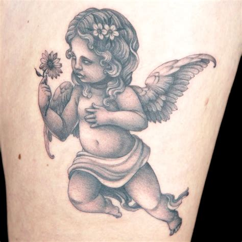 cherubs tattoo designs 65 adorable cherub tattoos designs with meanings