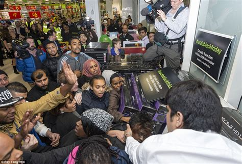 A Desperate Ruse black friday turns as shoppers fight bargains