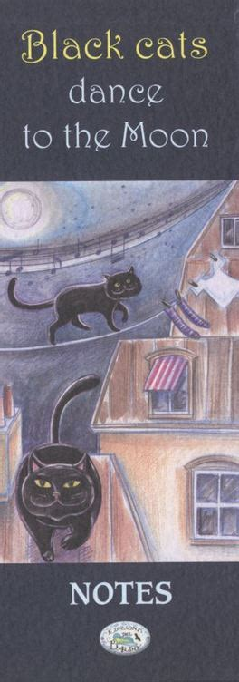 libro the black moon a notes black cats dance to the moon