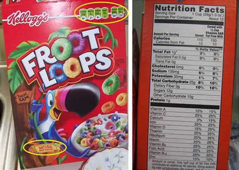 fruit loops nutrition fruit loops nutrition information panel nutrition ftempo
