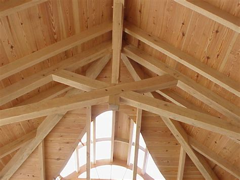 How To Frame A Cathedral Ceiling by Pin Scissor Truss Cathedral Ceilings On