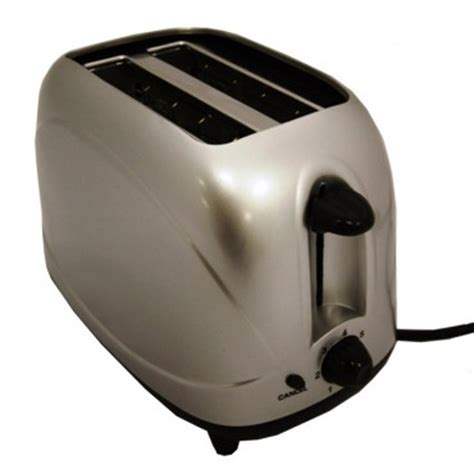 Toaster Low Watt sunnc 2 slice low wattage toaster silver