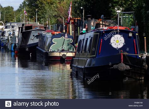 strawberry island boat club doncaster canal stock photos doncaster canal stock