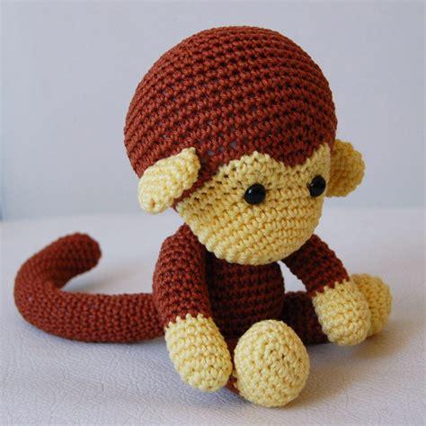 pattern amigurumi italiano amigurumi crochet monkey pattern johnny the monkey softie