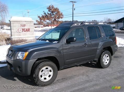 grey nissan xterra 2008 nissan xterra s 4x4 in night armor dark gray 541744