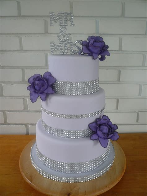 purple bling wedding cake 301 moved permanently