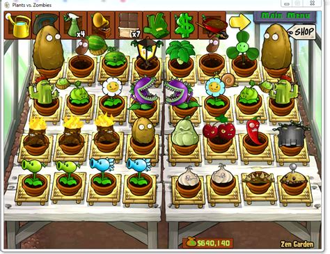 zen garten pvz eula2003 my plants vs zen garden