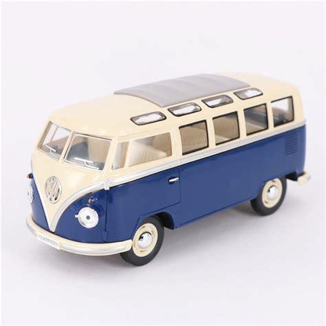 miniatur vw combi bus  skala   diecast mobil