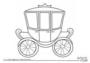 coloring pages and carriage carriage colouring page 2