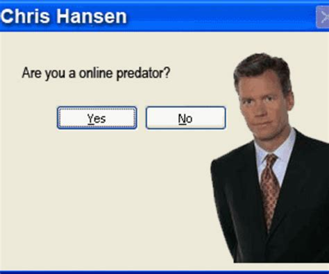 Chris Hansen Meme - image 10679 chris hansen know your meme