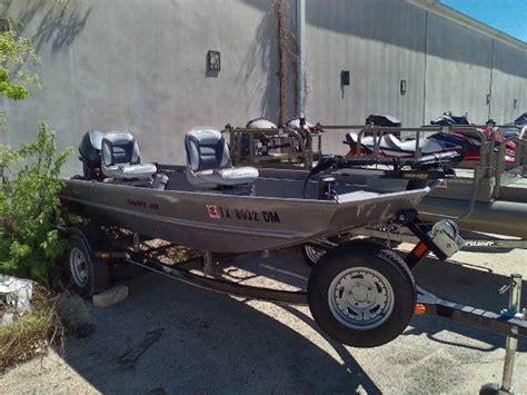 alumacraft jon boats for sale in texas 2016 used alumacraft crappie jon freshwater fishing boat