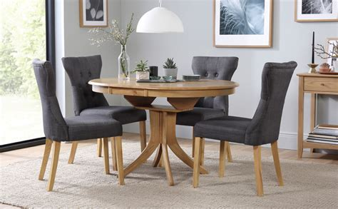 Extending Dining Room Tables And Chairs Hudson Extending Dining Table 4 Chairs Set Bewley Slate Only 163 399 99 Furniture Choice