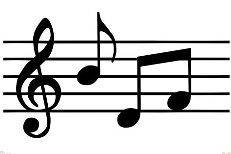 musica clipart note of clipart best